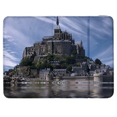 Mont Saint Michel France Normandy Samsung Galaxy Tab 7  P1000 Flip Case
