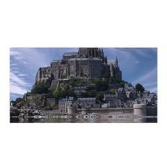 Mont Saint Michel France Normandy Satin Wrap