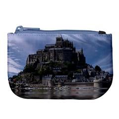 Mont Saint Michel France Normandy Large Coin Purse