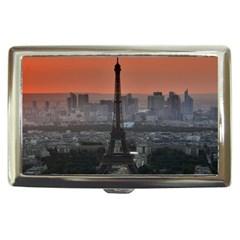 Paris France French Eiffel Tower Cigarette Money Cases