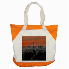 Paris France French Eiffel Tower Accent Tote Bag