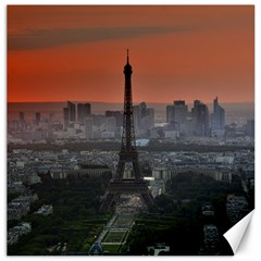 Paris France French Eiffel Tower Canvas 16  X 16   by Nexatart