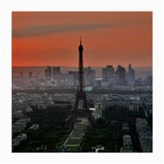 Paris France French Eiffel Tower Medium Glasses Cloth by Nexatart