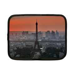 Paris France French Eiffel Tower Netbook Case (small)