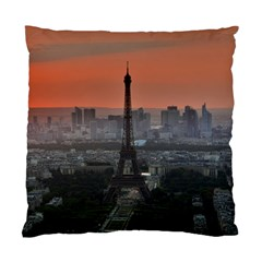 Paris France French Eiffel Tower Standard Cushion Case (two Sides)