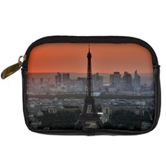 Paris France French Eiffel Tower Digital Camera Cases by Nexatart