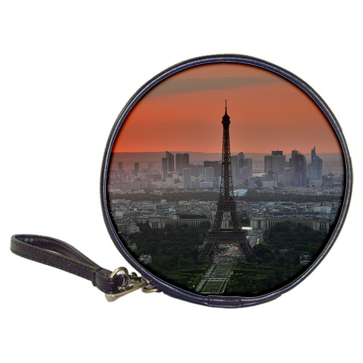 Paris France French Eiffel Tower Classic 20-CD Wallets