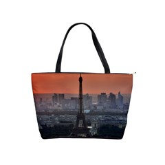 Paris France French Eiffel Tower Shoulder Handbags