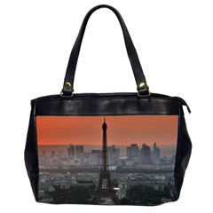 Paris France French Eiffel Tower Office Handbags (2 Sides)  by Nexatart