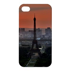Paris France French Eiffel Tower Apple Iphone 4/4s Premium Hardshell Case