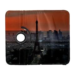 Paris France French Eiffel Tower Galaxy S3 (flip/folio) by Nexatart