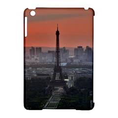 Paris France French Eiffel Tower Apple Ipad Mini Hardshell Case (compatible With Smart Cover) by Nexatart