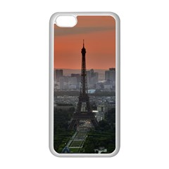 Paris France French Eiffel Tower Apple Iphone 5c Seamless Case (white) by Nexatart