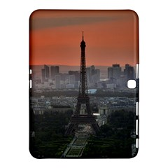 Paris France French Eiffel Tower Samsung Galaxy Tab 4 (10 1 ) Hardshell Case  by Nexatart