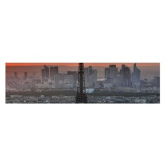 Paris France French Eiffel Tower Satin Scarf (oblong)