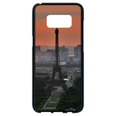 Paris France French Eiffel Tower Samsung Galaxy S8 Black Seamless Case