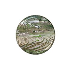 Rice Fields Terraced Terrace Hat Clip Ball Marker by Nexatart