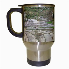Rice Fields Terraced Terrace Travel Mugs (white)
