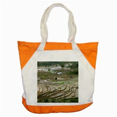 Rice Fields Terraced Terrace Accent Tote Bag by Nexatart