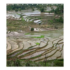 Rice Fields Terraced Terrace Shower Curtain 66  X 72  (large)  by Nexatart