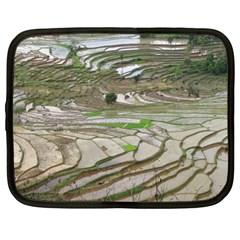 Rice Fields Terraced Terrace Netbook Case (xl)