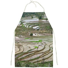 Rice Fields Terraced Terrace Full Print Aprons