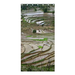 Rice Fields Terraced Terrace Shower Curtain 36  X 72  (stall)