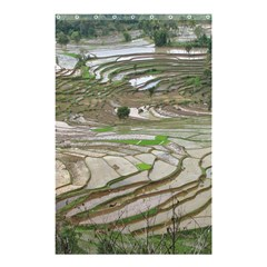 Rice Fields Terraced Terrace Shower Curtain 48  X 72  (small)