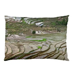 Rice Fields Terraced Terrace Pillow Case (two Sides)