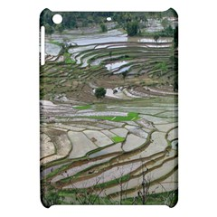 Rice Fields Terraced Terrace Apple Ipad Mini Hardshell Case by Nexatart
