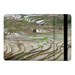 Rice Fields Terraced Terrace Samsung Galaxy Tab Pro 10 1  Flip Case by Nexatart