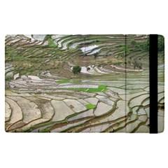 Rice Fields Terraced Terrace Apple Ipad Pro 9 7   Flip Case