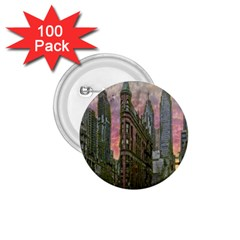 Flat Iron Building Toronto Ontario 1 75  Buttons (100 Pack)