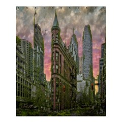 Flat Iron Building Toronto Ontario Shower Curtain 60  X 72  (medium)
