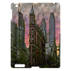 Flat Iron Building Toronto Ontario Apple Ipad 3/4 Hardshell Case by Nexatart