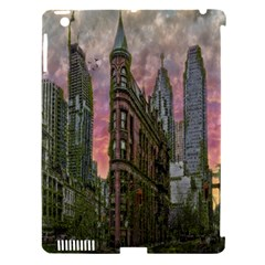 Flat Iron Building Toronto Ontario Apple Ipad 3/4 Hardshell Case (compatible With Smart Cover) by Nexatart