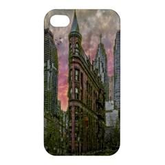 Flat Iron Building Toronto Ontario Apple Iphone 4/4s Premium Hardshell Case