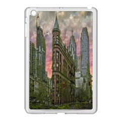 Flat Iron Building Toronto Ontario Apple Ipad Mini Case (white) by Nexatart