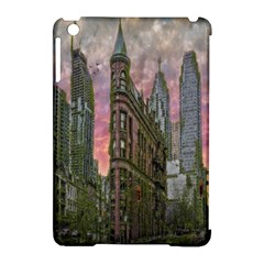 Flat Iron Building Toronto Ontario Apple Ipad Mini Hardshell Case (compatible With Smart Cover) by Nexatart