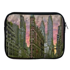 Flat Iron Building Toronto Ontario Apple Ipad 2/3/4 Zipper Cases