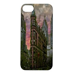 Flat Iron Building Toronto Ontario Apple Iphone 5s/ Se Hardshell Case by Nexatart