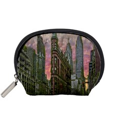 Flat Iron Building Toronto Ontario Accessory Pouches (small)