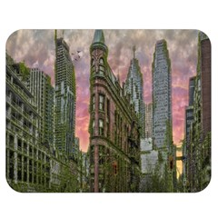 Flat Iron Building Toronto Ontario Double Sided Flano Blanket (medium)  by Nexatart