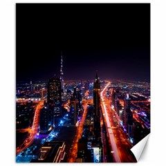 Dubai Cityscape Emirates Travel Canvas 8  X 10  by Nexatart