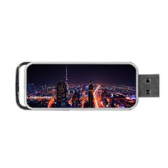 Dubai Cityscape Emirates Travel Portable Usb Flash (two Sides)
