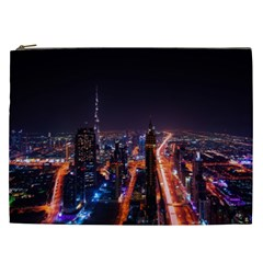 Dubai Cityscape Emirates Travel Cosmetic Bag (xxl)  by Nexatart