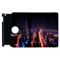Dubai Cityscape Emirates Travel Apple Ipad 2 Flip 360 Case