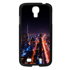 Dubai Cityscape Emirates Travel Samsung Galaxy S4 I9500/ I9505 Case (black)