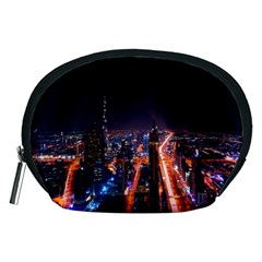Dubai Cityscape Emirates Travel Accessory Pouches (medium)