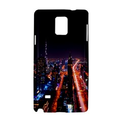 Dubai Cityscape Emirates Travel Samsung Galaxy Note 4 Hardshell Case by Nexatart
